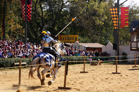 Galloping Jousting Knight