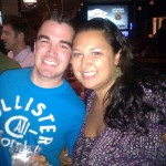 Matt and Kristina at Looneys